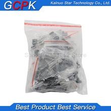 120pcs 1set of 120pcs 12 values 0.22UF-470UF Aluminum electrolytic capacitor assortment kit set pack Free shipping