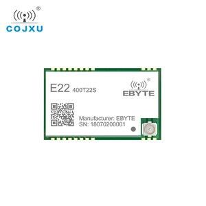 Image 4 - SX1268 TCXO UART Lora สุทธิทำงาน E22 400T22S SMD หลุมแสตมป์ RSSI ไร้สาย 22dBm 433MHz IPEX RF โมดูลตัวรับสัญญาณ