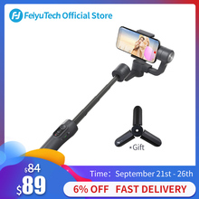FeiyuTech Vimble 2 Handheld Smartphone Gimbal Tripod Stabilizer with 183mm Pole for iPhone X 8 7 Samsung XIAOMI 57~84mm