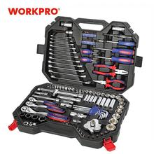 Workpro 123pc混合ツールセットメカニックツールセットスパナレンチソケットセット 2019 新デザイン
