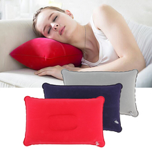 Outdoor Camping Pillow Ultralight Travel Pillows Inflatable Portable Inflation Cushion Soft Neck Protective HeadRest