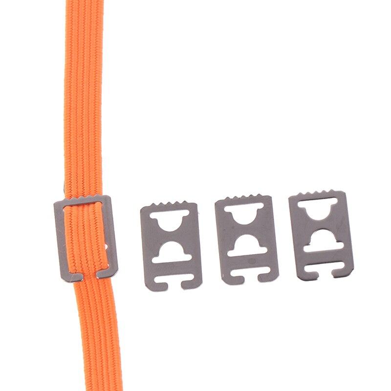 4Pcs Metal Lazy Shoe Laces No Tie Flat Shoelaces Buckle Shoe Decorations Flat Anchor Fit All Shoelace