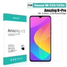 Für xiaomi mi a3 Glas Screen Protector NILLKIN Erstaunlich 9H 2.5D für xiaomi mi cc9e Gehärtetem Glas Schutz für xiaomi mi cc9