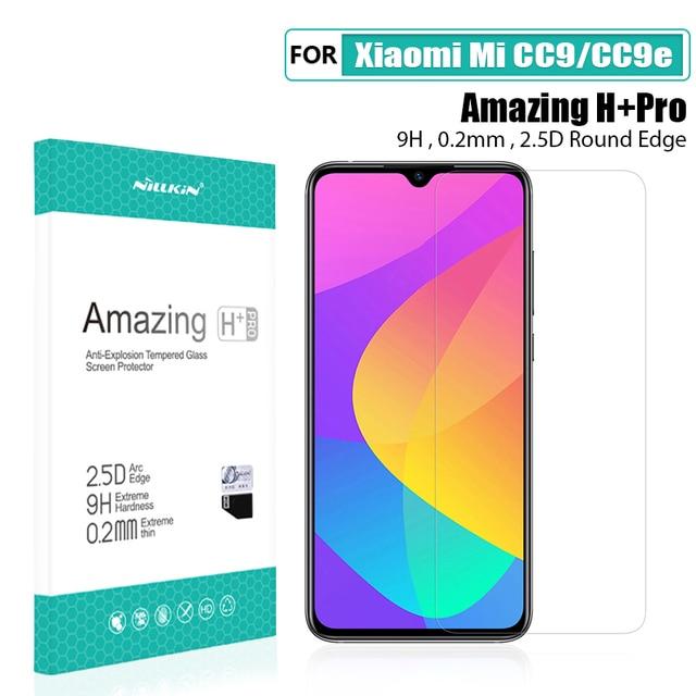 สำหรับ Xiaomi Mi A3 แก้วป้องกันหน้าจอ NILLKIN Amazing 9H 2.5D สำหรับ Xiaomi Mi cc9e กระจกนิรภัยสำหรับ Xiaomi Mi cc9