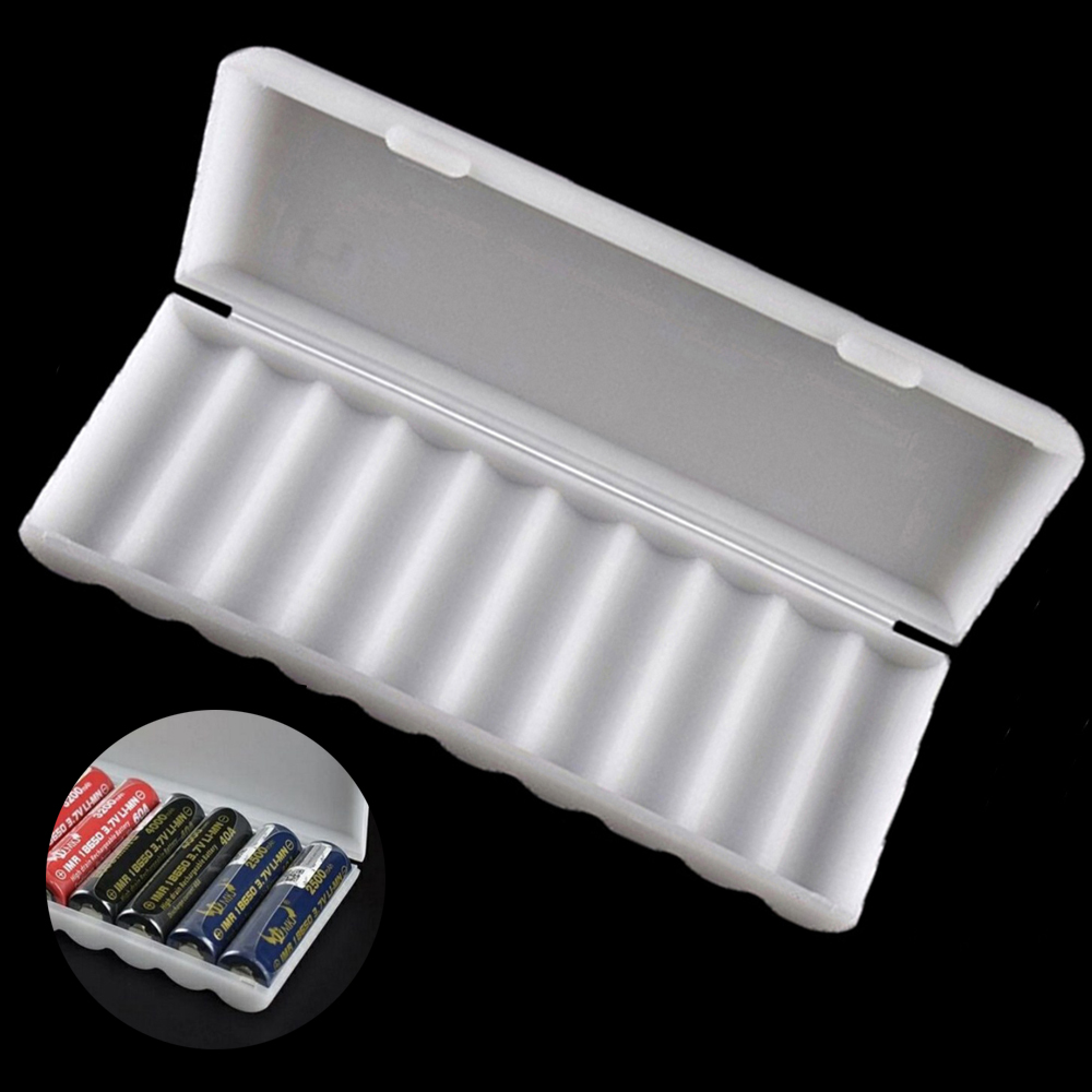 10Pcs double Wired Rectangle 3 x 3.7V 18650 Batterie Holder Case Portable Box