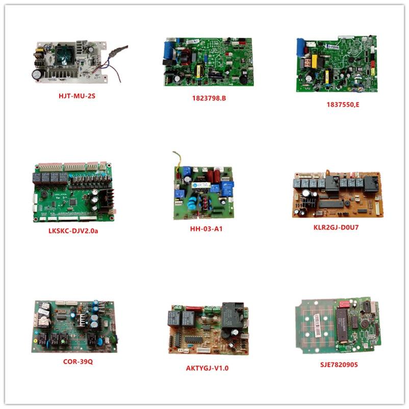 HJT-MU-2S  1823798.B  1837550.E  LKSKC-DJV2.0a  HH-03-A1  KLR2GJ-D0U7  COR-39Q  AKTYGJ-V1.0  SJE7820905 Used