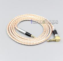 16 ядерный посеребренный OCC смешанный кабель для наушников LN006721 для Sennheiser HD598se HD559 hd569 hd579 hd599 hd558 hd518