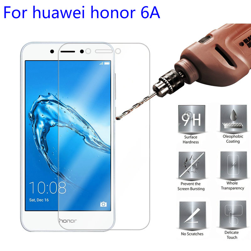 Tempered Glass For Huawei Honor 6A Screen Protector 9H 2.5D On Phone Protective Film For Huawei Honor 6A 6 A Protective Film