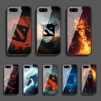 DOTA 2 Game Phone Tempered Glass Case Cover For Huawei Honor Nova 5T 71 8A 8X 8 9X 9 10 10I 20 30 Pro Lite Fashion Black Shell 1