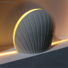 new cameo shell 10w CREE LED  surface mounted led wall sconce liner Aisle Bedroom Decorative Lighting Window wall light