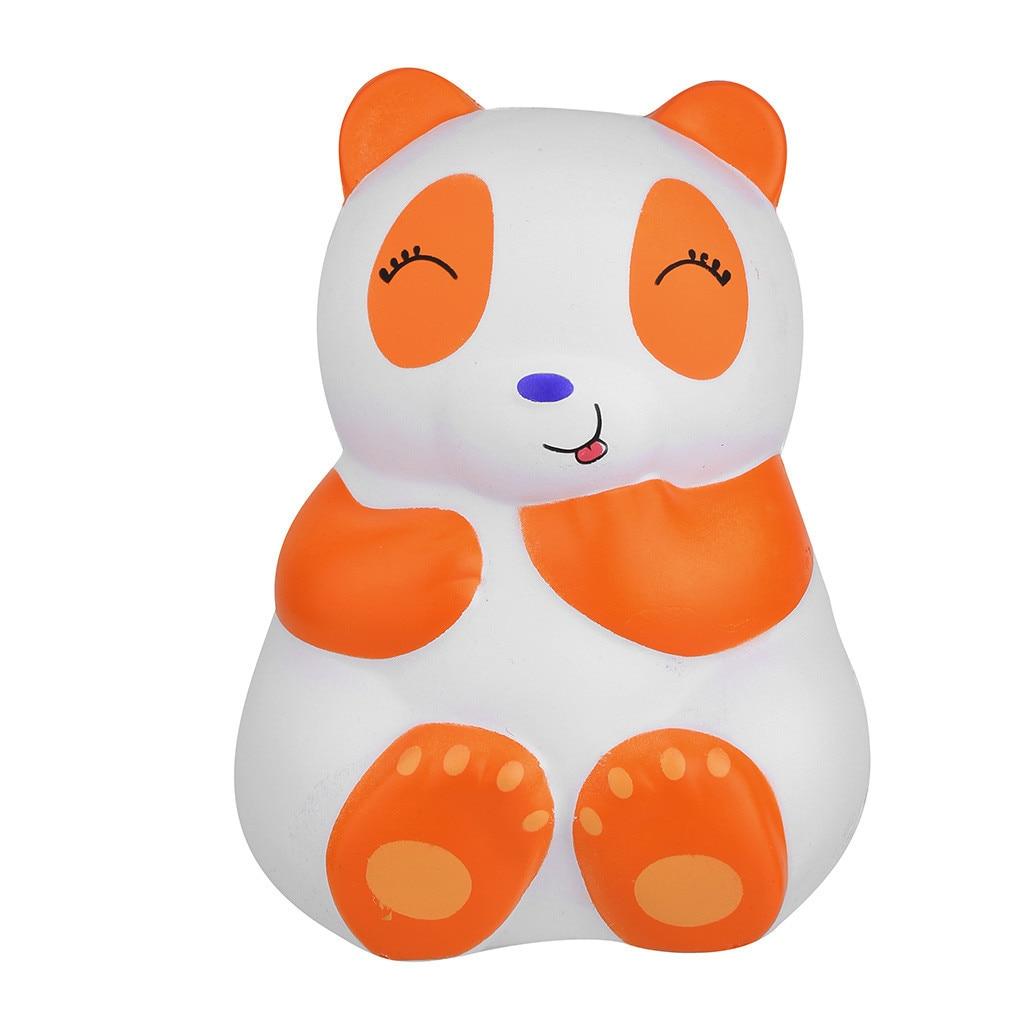 Cute Cartoon Panda Slow Rising Stress Relief Toys Slow Rebound Anti-anxiety Birthday Gift Boys And Girls Punching Bag #C