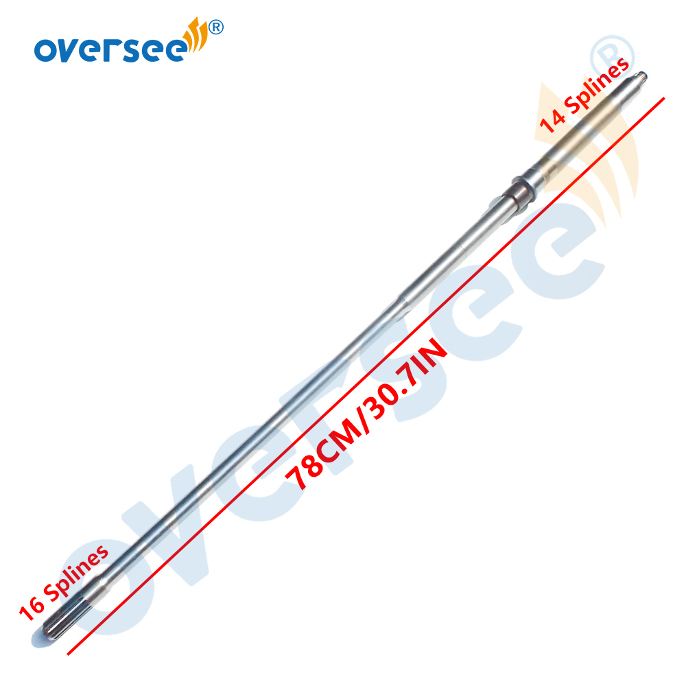 69W-45501-00-00 (short)Drive Shaft Comp For Yamaha  F50 F60 OUTBOARD Motor 69W-45501-00 69W-45501