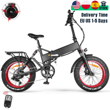 Fat Bike Mountain-Bicycle Bafang-Motor Snow Lithium-Hidden-Battery Folding Electric 20inch