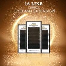 ABONNIE 7-17 High quality eyelash extension mink,individual eyelash extension Natural eyelashes fake false eyelashes 1case Cilia
