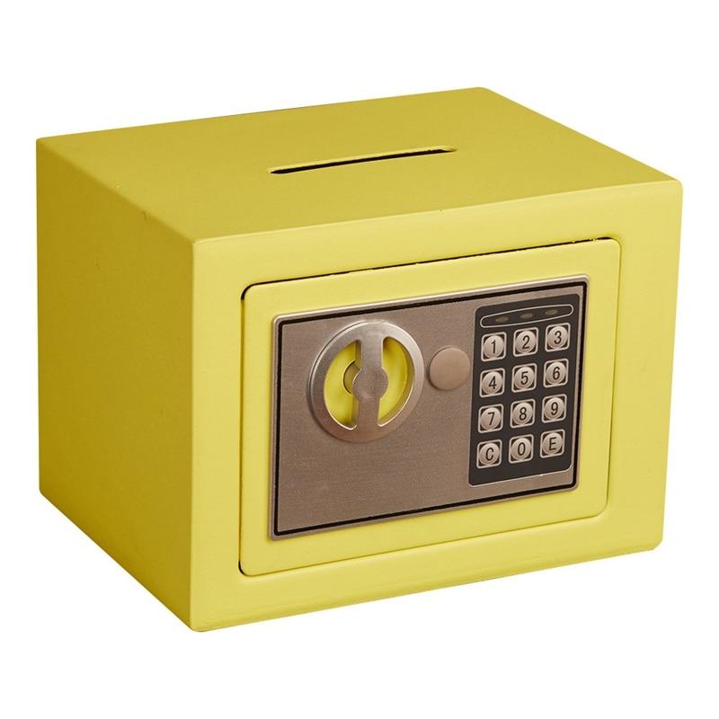Mini Safety Box Drop Cash Safe Box 5