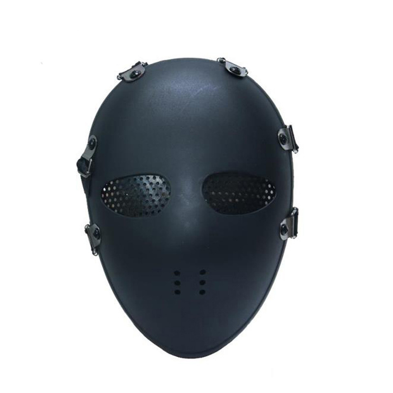WOLF ENEMY 1Pc Airsoft Paintball BB Gun Full Face Protect Mask Black
