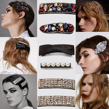 Рождественская распродажа, женские заколки для волос ZA Crystal, трендовые наборы из искусственного жемчуга, заколки для волос, аксессуары для волос, женские подарки