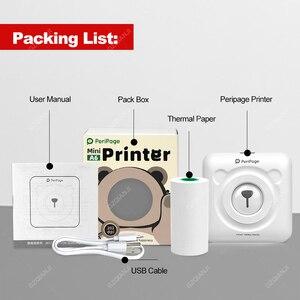 Image 5 - Peripage A6 미니 사진 블루투스 프린터 304 인치 당 점 포켓 포토 프린터 마커 휴대 전화 안드로이드 및 iOS 선물 프린터 용지