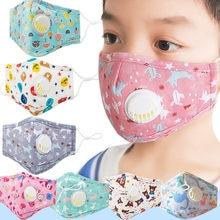 Face-Mask Washable Kids Women Fashion Windproof