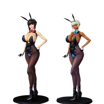 Q-Six Sexy Figure Original Illustration Erika Izayoi PVC Action Figure Toys Anime Sexy Girl Figure Collectible Statue Doll Gift image