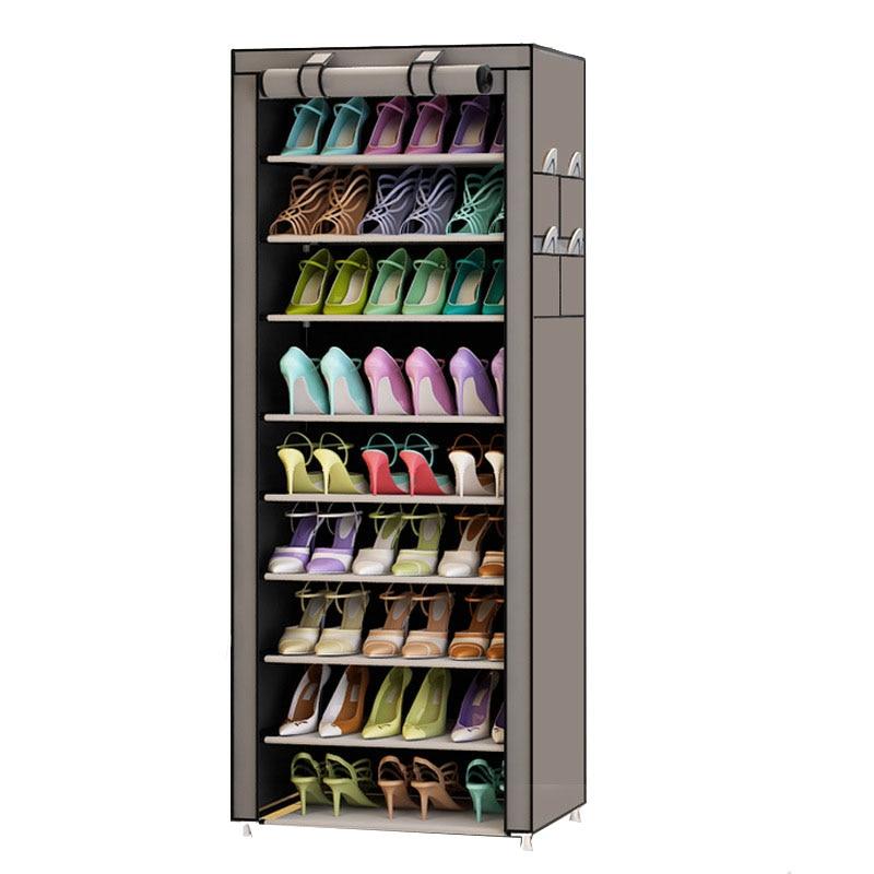 Estantería para zapatos Oxford de 9 niveles, armario de almacenamiento de Taburete para zapatos multiusos, estante para zapatos, organizador de zapatos DIY, estuche para ahorrar espacio Estrella deseo moderna bola de cristal nórdico luces de mesa Retro Vintage lámpara de escritorio E27 desván para dormitorio junto a la lámpara Oro Negro enchufe de la UE