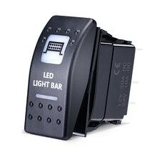 KEMiMOTO клавишный переключатель с подсветкой светодиодная световая панель для Can Am Maverick Commander 16 UTV для Yamaha для Polaris Ranger
