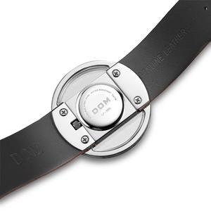 Image 5 - Watch Women luxury Fashion Casual 30 m waterproof quartz watches genuine leather strap sport Ladies elegant wrist watch girl DOM