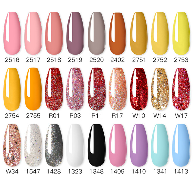 ROSALIND Nail Polish Red Nude Series Polish All For Manicure Nails Art Semi Permanent Gel UV LED Soff Off Hybrid Varnishes 3
