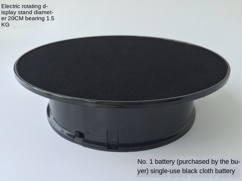 Photography Turntable Live Video Filming Rotating  Power-driven Rotation Display Stand Product Rotating Disc Adjustable Speed