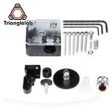 Экструдер Trianglelab titan для настольного 3D принтера FDM reprap MK8 J head bowden, бесплатная доставка для ANET MK8 i3 ender 3