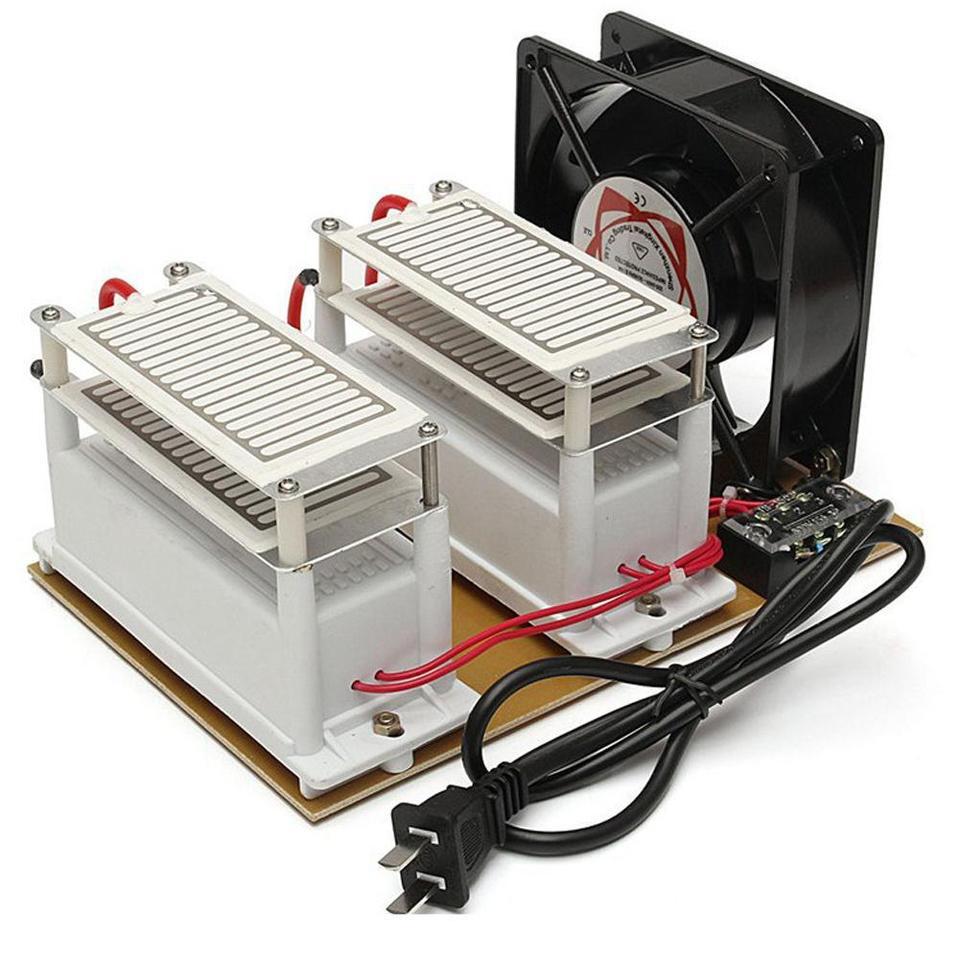220V 20G Ozoniseur Portable Purificateur D'ozone Générateur D'air Stérilise ...