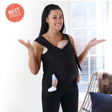 Multifunctional Women Baby Carrier Kangaroo Soothe T Shirts Men Daddy Shirt Newborn Hands Free