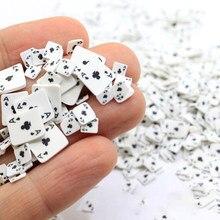 20g pokerowe plastry wypełniacz do szlamu owocowe dodatki Charms dla majsterkowiczów akcesoria szlamowe akcesoria do paznokci