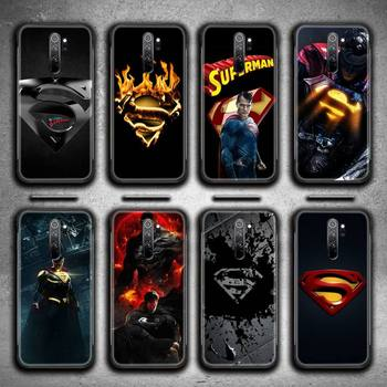 Marvel DC Superhero Superman Phone Case for Redmi 9A 8A 7 6 6A Note 9 8 8T Pro Max Redmi 9 K20 K30 Pro image