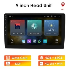 """9"""" 10.1 Android Car radio 2 Din Multimedia Player GPS Navigation Auto Stereo WIFI Bluetooth Video Player Universal Head Unit"""