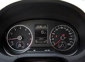 Чехол для Volkswagen 2011-2014 VW POLO пленка Модифицированная Автомобильная приборная панель пленка защитная пленка наклейки украшение