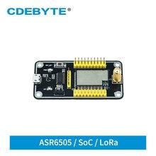 E78-400TBL-01A asr6505 usb lorawan lora linkwan soc usb para ttl para asr6501 e78 série placa de teste módulo rf cdebyte