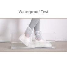 Новые непромокаемые сапоги унисекс водонепроницаемые резиновые сапоги из ПВХ Нескользящая водонепроницаемая обувь для дождливой погоды для мужчин и женщин, Детские Бахилы# B5