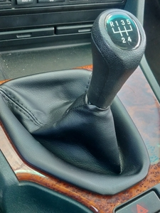 Image 5 - Car Shift Gear Stick Manual Shift Boot Black Leather Boot With Frame For BMW E30 E36 E39 E46 E81 E82 E87 E88 E90 E91 E92 E93