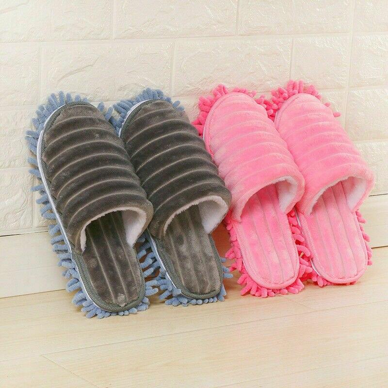 1 пара мягких швабры из микрофибры; тапочки для ленивых; носки тапочки; креативная обувь для быстрой уборки; пылезащитный чехол|Швабры|   | АлиЭкспресс