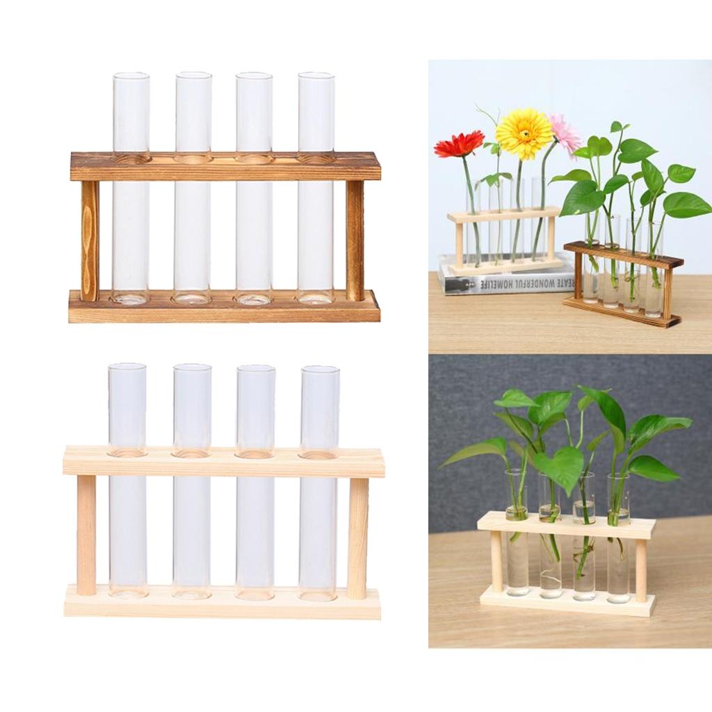 Купить 2x стеклянная пробирка для растений террариум цилиндр прозрачная