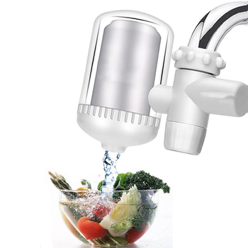 Mini Tap Water Purifier Kitchen Faucet Washable Ceramic Percolator Water Filter Filtro Rust Bacteria Removal Replacement kitchen faucet tap water purifier washable ceramic percolator household water purifier ceramic activated carbon filter element