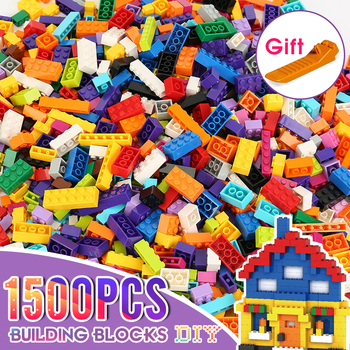 Classic Brand Building Blocks City DIY Creative Bricks Bulk Model Figures Educational Kids Toys Small Size All Available 1000pcs building blocks city diy creative bricks bulk model figures educational kids toys bricks assembly compatible all brands
