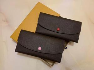2020 fashion lady wallet high quality long wallet lady multicolor color coin purse Card holder women classic zipper pocket clutc