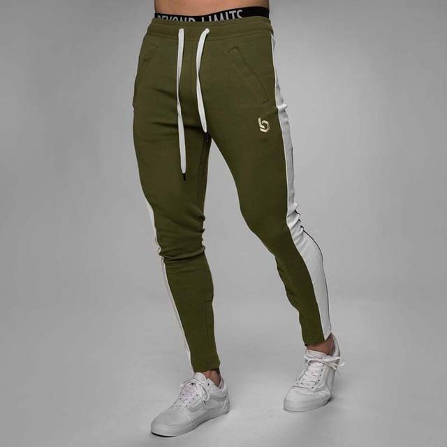 Alphalete Mens Joggers Casual Pants Fitness Men Sportswear Tracksuit Bottoms Skinny Sweatpants Trousers Gyms Jogger Track Pants 6