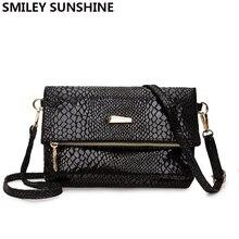 Małe torby typu Crossbody dla kobiet 2020 płótno kobieta Messenger torby Mini czarne serpentynowe damskie torebki Crossbody bolsos mujer