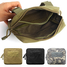 Tactical EDC Molle Pouch 1000D Outdoor Accessory Bag Hunting Gadget Gear Bag Compact Waist Belt Pouch for Hunting Camping Hiking