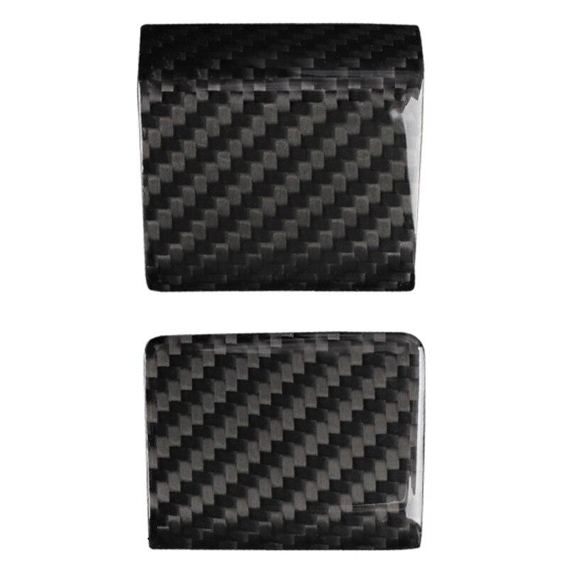 Voor Tesla Model 3 2017 2019 Innerlijke Window Schakelaar Panel Cover Brengen Carbon Fiber Cover Trim Panel Deur decal Open Knop H - 6