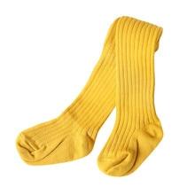 Носки для малышей милые однотонные гольфы для девочек, мягкие теплые носки для зимы, повседневные модные однотонные носки для маленьких мальчиков дешевая одежда