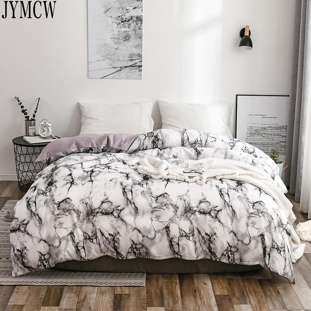 Bedding with Marble Texture 1